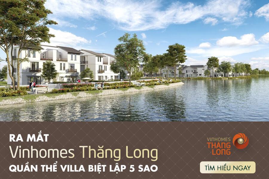 Vinhomes Thăng Long dự án Vinhomes chiến lược phía Tây Hà Nội