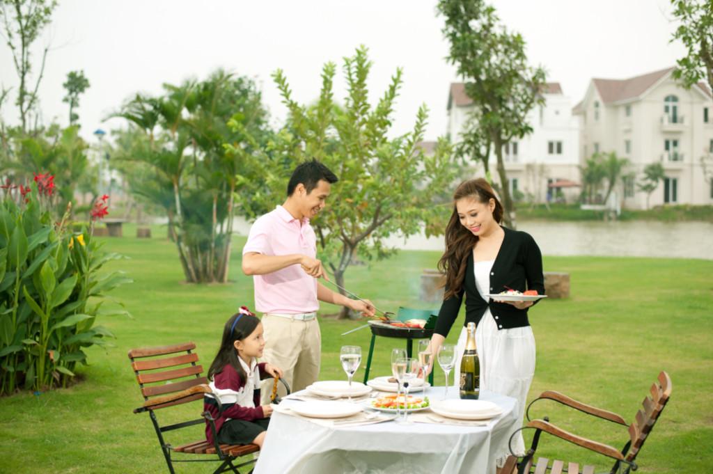 Căn hộ Vinhomes Paradise Mễ Trì hấp dẫn các gia đình Việt trẻ