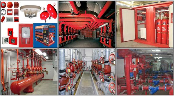 Hệ thống phòng cháy chữa cháy được đầu tư tiên tiến hiện đại