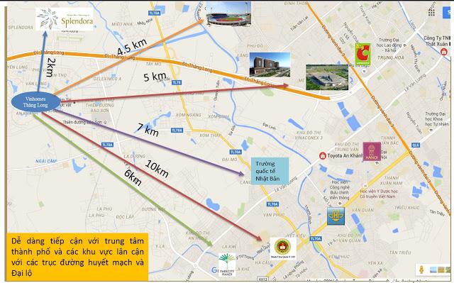 VinGroup thực hiện dự án PT với Huyện Hoài Đức để hoàn thành hạ tầng khu vực.