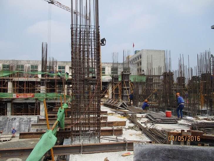 Tiến độ dự án chung cư HongKong Tower 4-5-2016