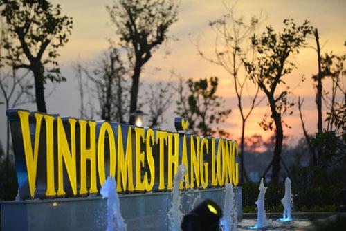 Vinhomes Thăng Long, dự án khu đô thị nổi bật phía Tây Hà Nội