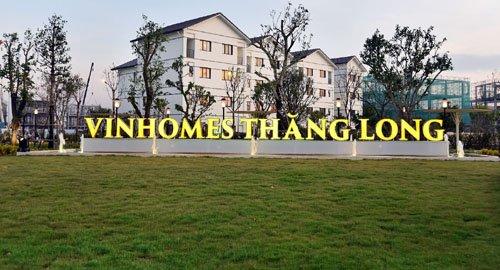 Vinhomes Thăng Long khai trương biệt thự mẫu