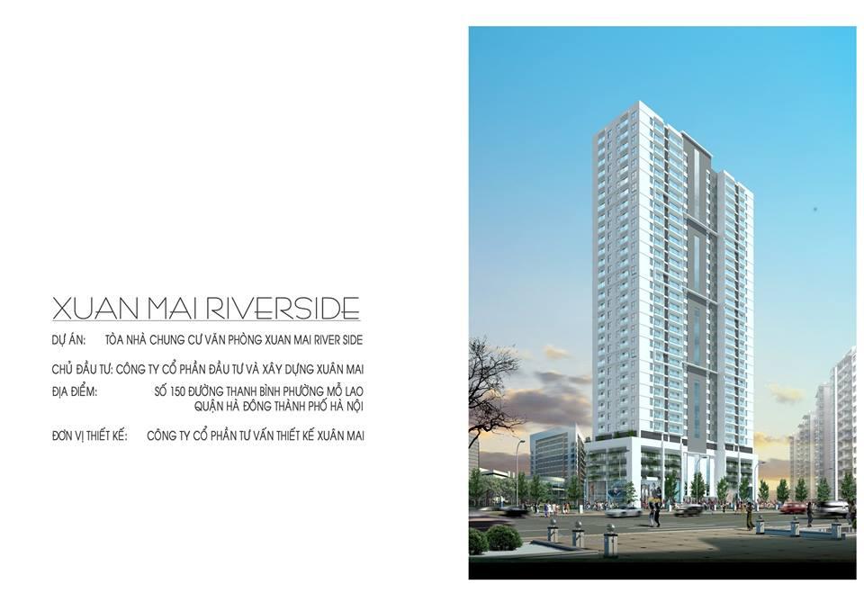 Chung cư Xuân Mai Riverside, chung cư Xuân Mai Mỗ Lao - Tổng quan dự án