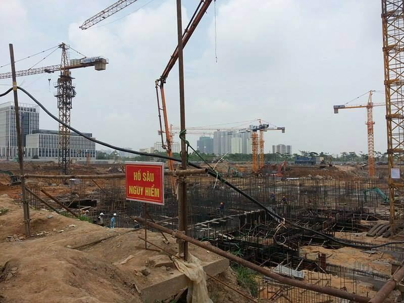Tiến độ chung cư An Bình City Thành phố Giao Lưu