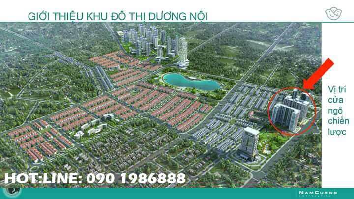 Giới thiệu về khu đô thị Dương Nội A quận Hà Đông