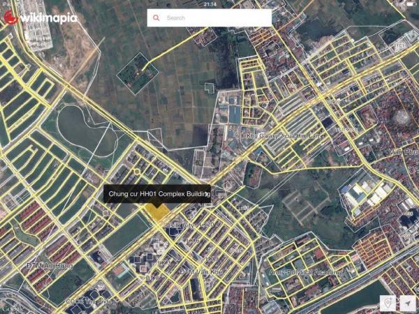Chung cư HH01 Complex Building Nam Cường  vị trí trung tâm