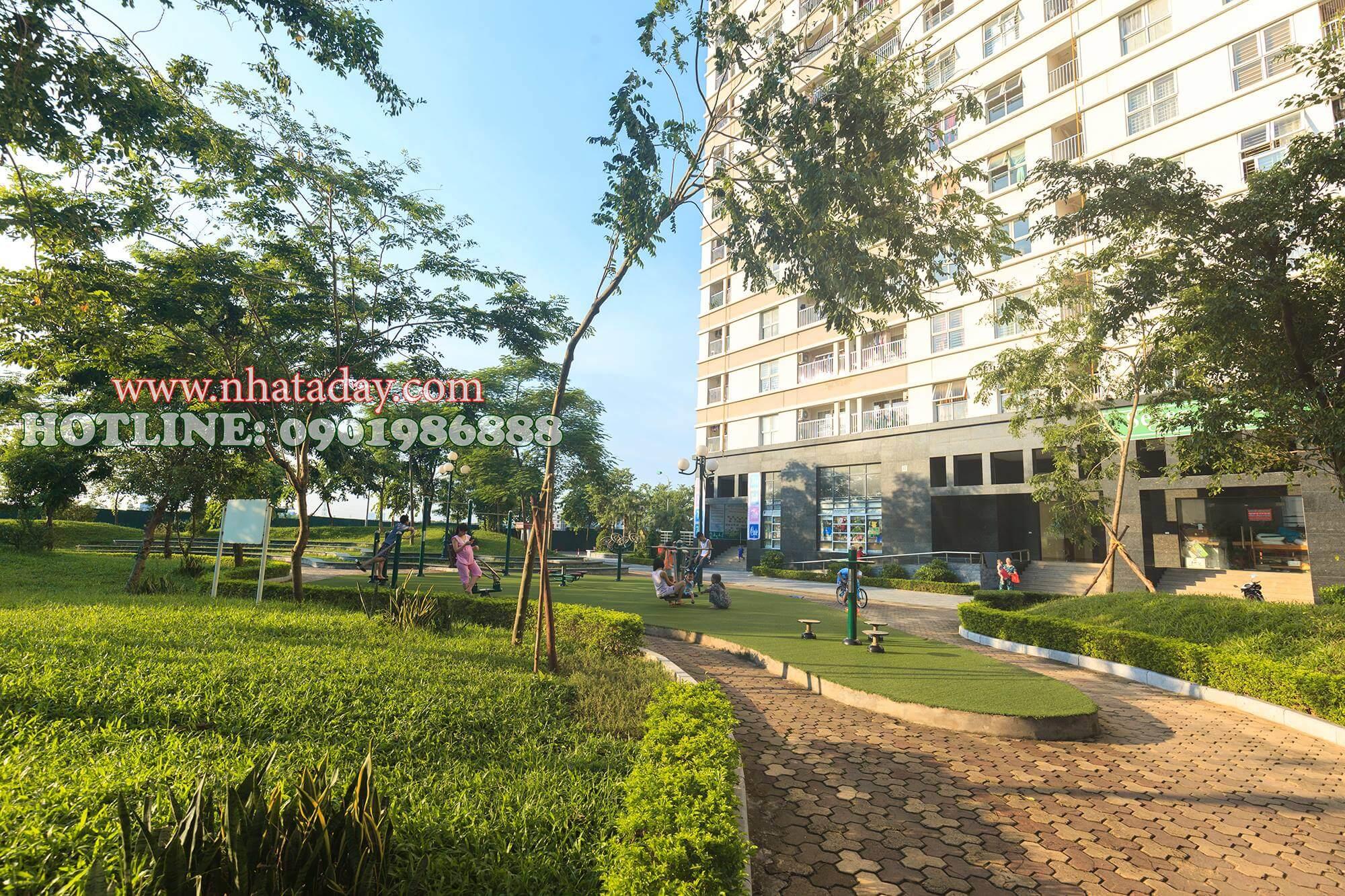 Công viên tại chung cư The Spark Dương Nội
