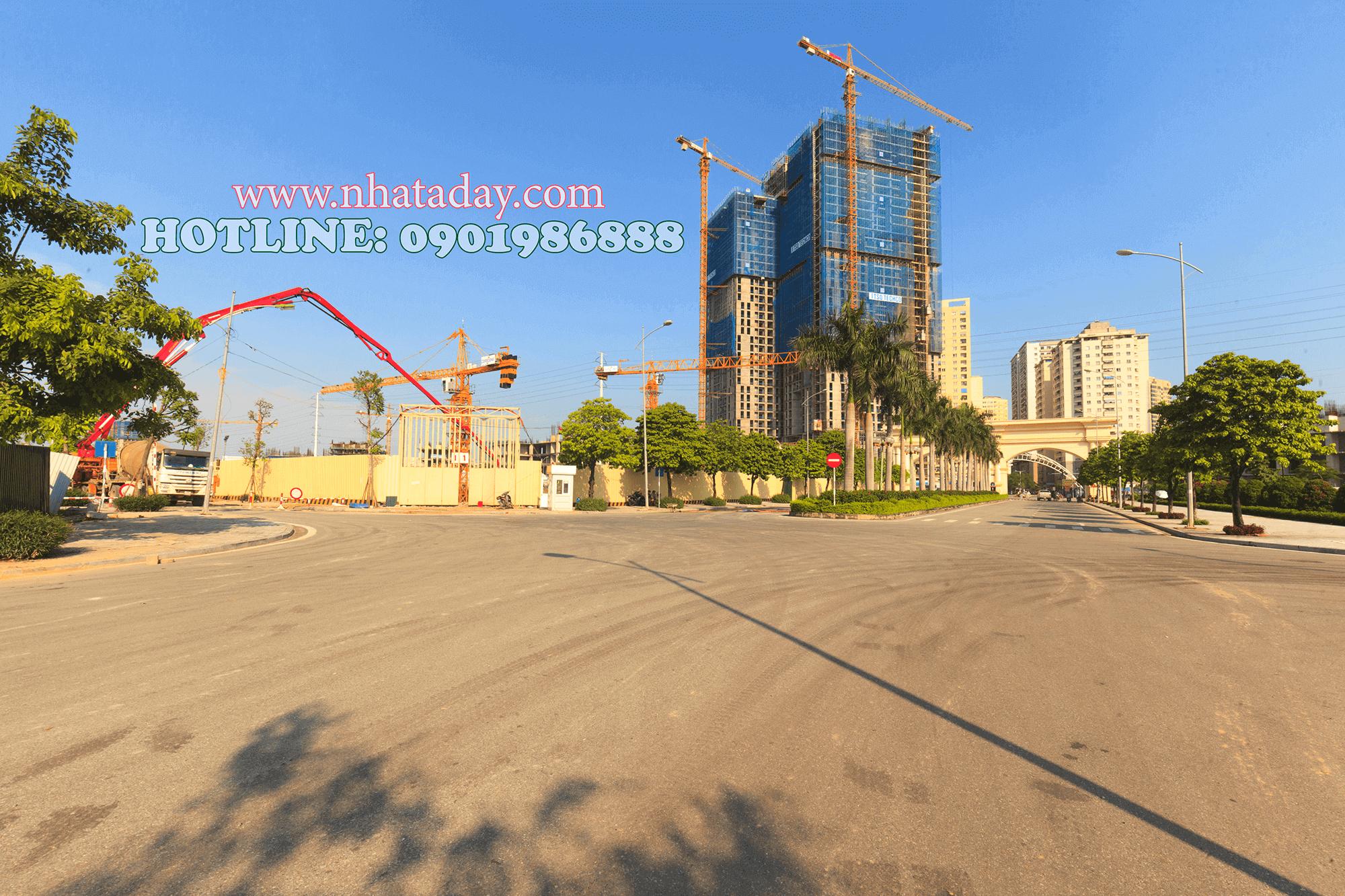 Cổng dự án chung cư AnLand Complex Building Nam Cường